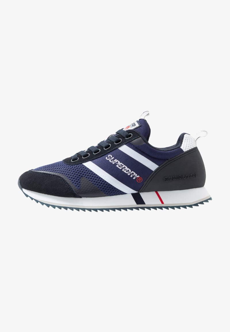 Superdry - FERO RUNNER - Sneaker low - navy