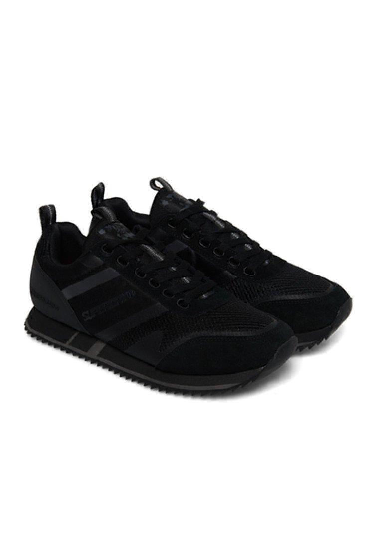 Superdry FERO RUNNER - Sneakersy niskie - black