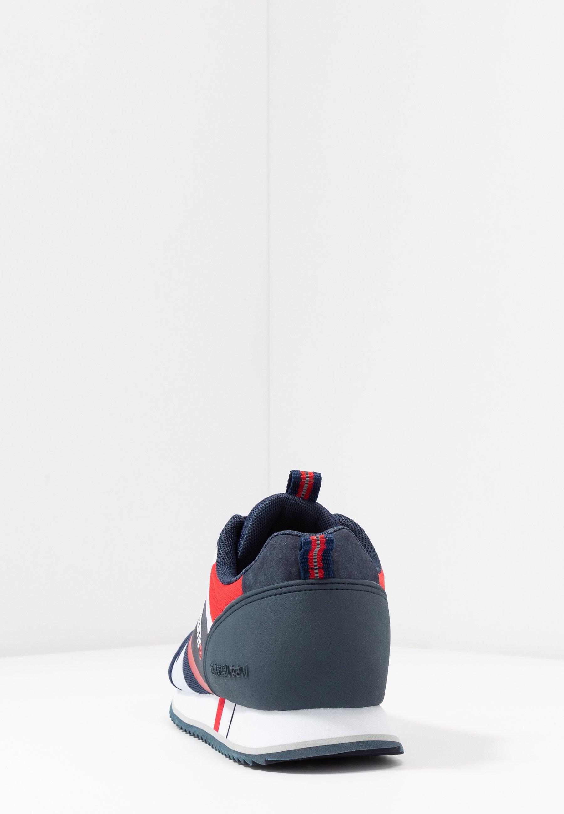 Superdry Fero Runner Core - Sneakers Laag Navy Goedkope Schoenen