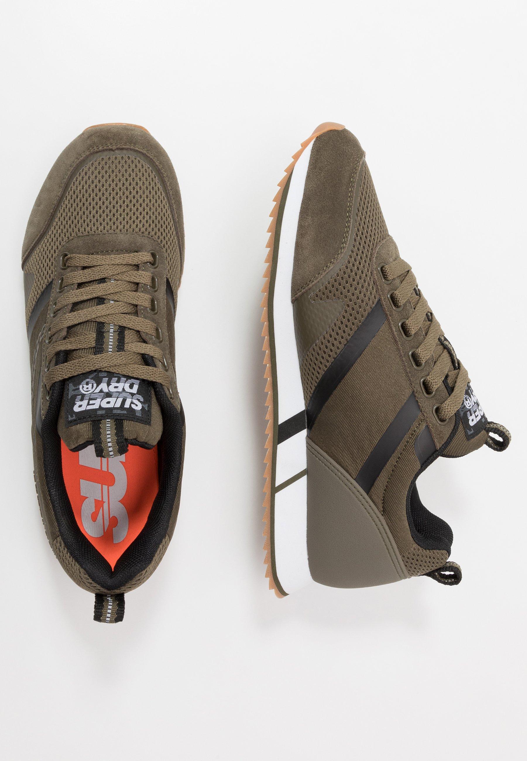 Superdry Fero Runner Core - Sneaker Low Khaki Black Friday