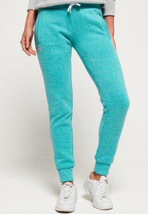 ORANGE LABEL - Pantalon de survêtement - lolly teal mottled