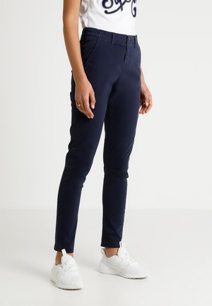 CITY - Chinos - midnight navy