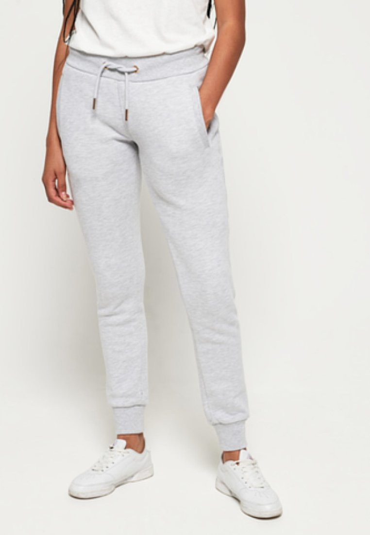 Superdry - ORANGE LABEL - Tracksuit bottoms - grey