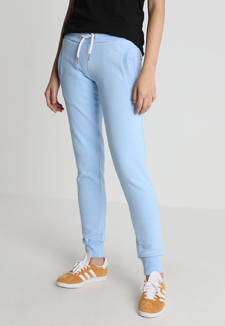Superdry ORANGE LABEL - Spodnie treningowe - elite blue