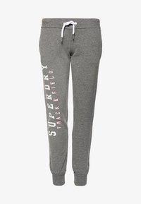 Superdry - Spodnie treningowe - dark grey - 6
