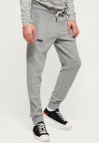 Superdry - ORANGE LABEL  - Pantalones deportivos - grey - 0