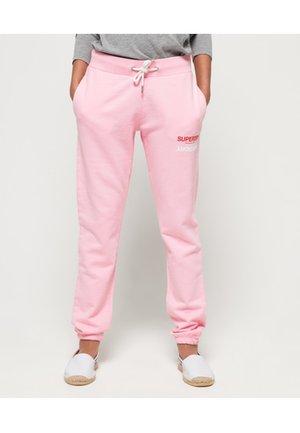 Spodnie treningowe - powder pink