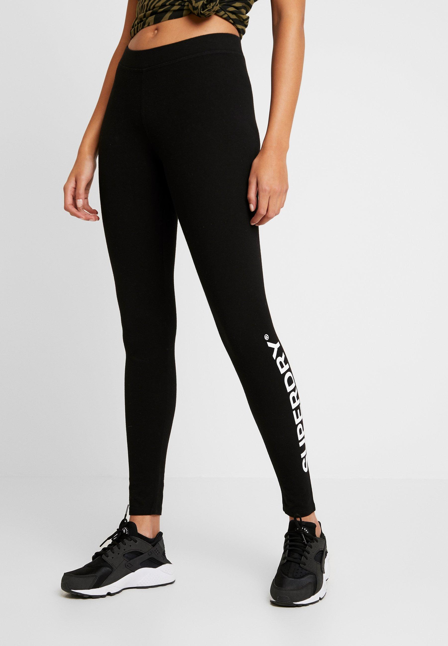 Superdry The Logo - Leggings Black
