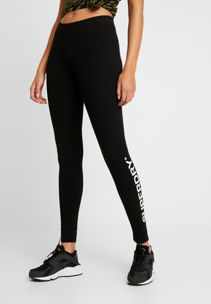 THE LOGO - Leggingsit - black