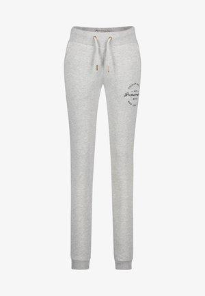 APPLIQUE JOGGERS - Pantalones deportivos - grey