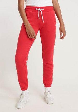 Tracksuit bottoms - trady red