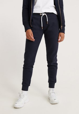 ORANGE LABEL - Pantalones deportivos - elite navy