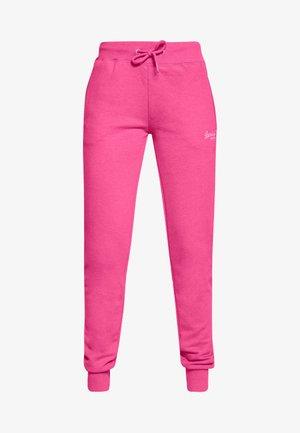 Teplákové kalhoty - fluro pink