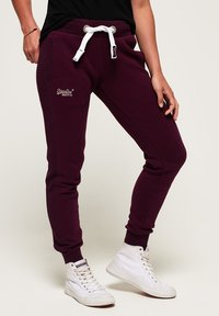Superdry - ORANGE LABEL  - Spodnie treningowe - purple - 0