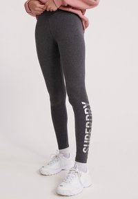 Superdry - DEYSI  - Leggingsit - dark grey - 0