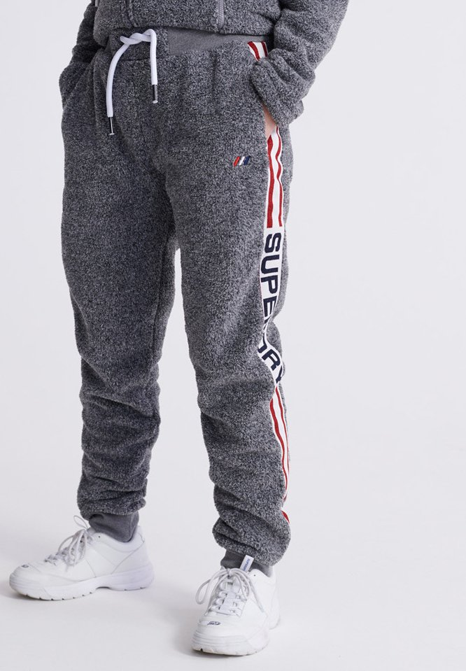 Superdry - POLAR SPORT - Broek - grey marl
