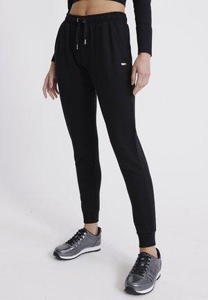 SUPERDRY STUDIO JOGGERS - Pantaloni sportivi - black
