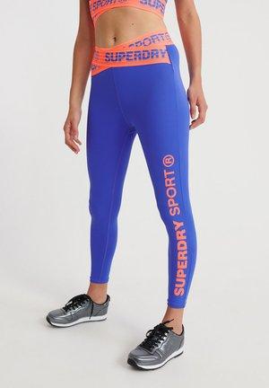 Leggings - electric blue