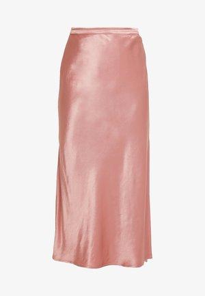 JERRY SKIRT - Maxi sukně - luxe pink