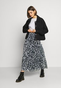 Superdry - MARGAUX SKIRT - Maxiskjørt - navy - 1
