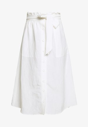 EDEN SKIRT - Gonna a campana - chalk white