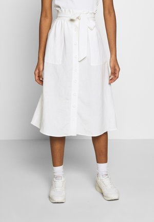 EDEN SKIRT - A-Linien-Rock - chalk white