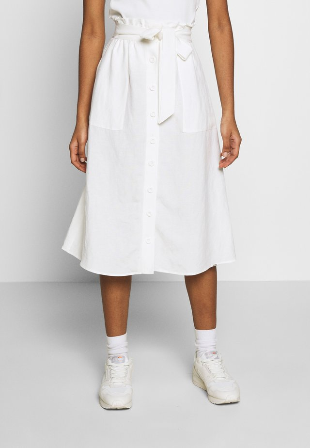 EDEN SKIRT - A-lijn rok - chalk white