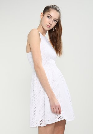 CAMYLLA RACER DRESS - Day dress - off white