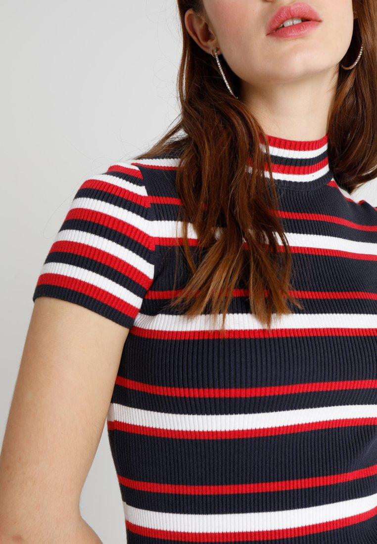 Superdry Sporty Striped Dress - Fodralklänning Eclipse Navy