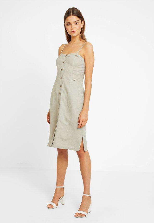 MILA - Korte jurk - light khaki