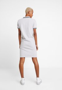 Superdry - POLO DRESS - Day dress - soft grey marl - 2