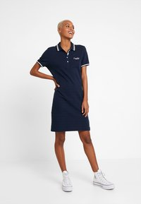 Superdry - POLO DRESS - Day dress - nautical navy