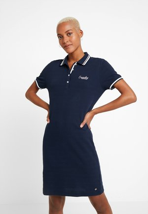POLO DRESS - Korte jurk - nautical navy