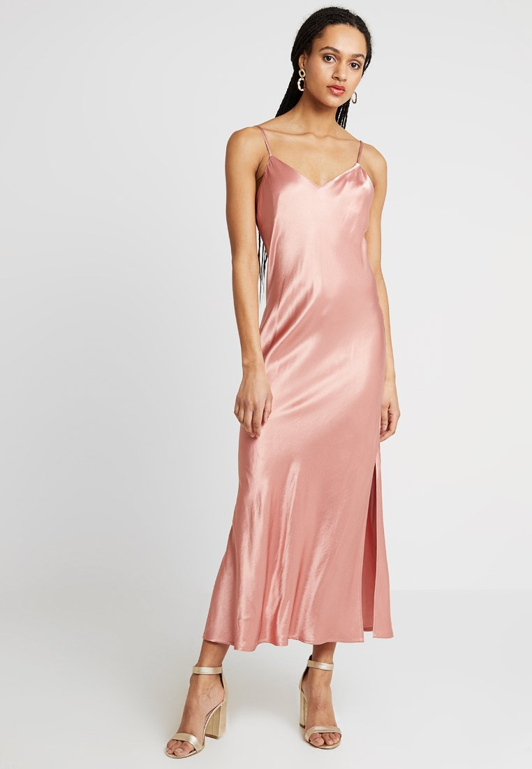 Superdry - BIANCA SLIP DRESS - Iltapuku - luxe pink