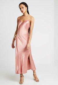 Superdry - BIANCA SLIP DRESS - Ballkleid - luxe pink - 2