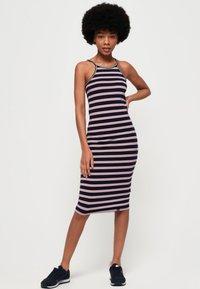 Superdry - Tiana - Tubino - red /  white striped - 1