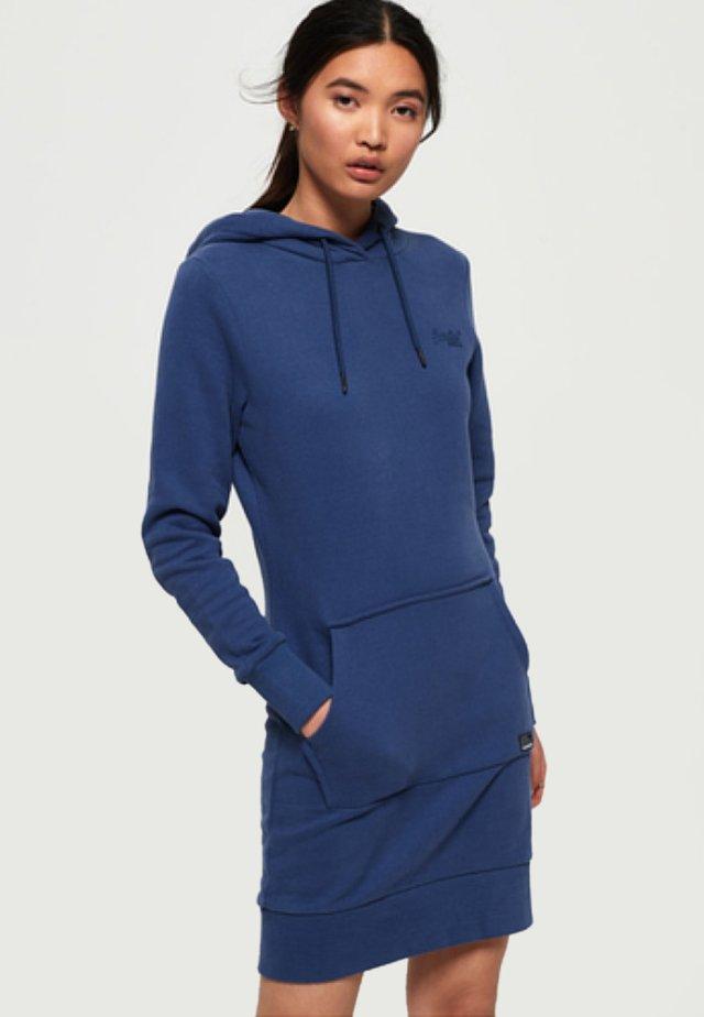 ORANGE LABEL - Korte jurk - denim vintage