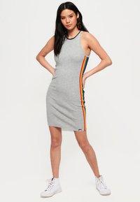 Superdry - SPORTY  - Korte jurk - grey - 1