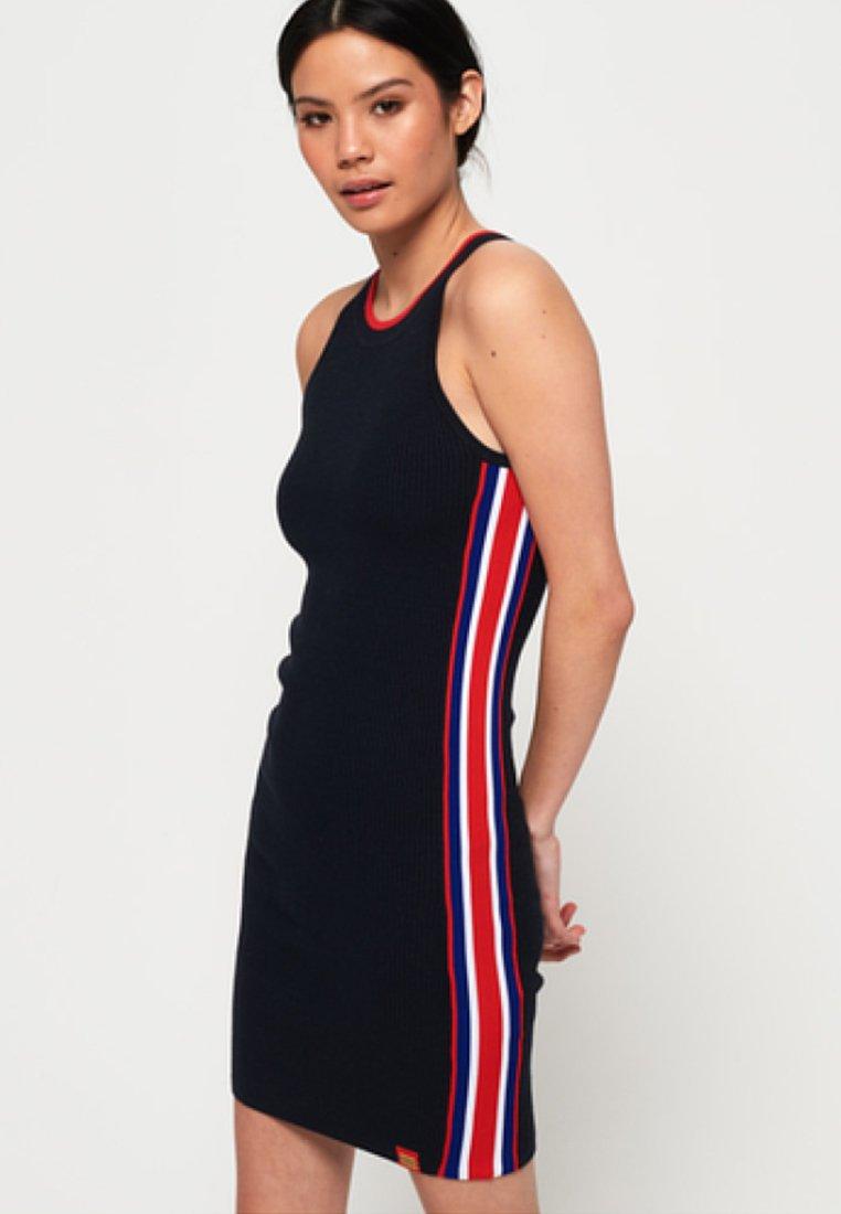 Superdry - SPORTY  - Robe d'été - eclipse navy