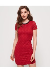 Superdry - Sukienka letnia - red - 0
