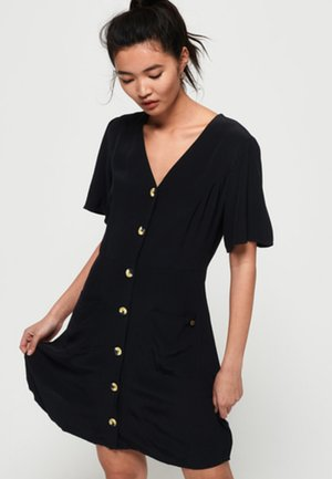 Skjortekjole - black