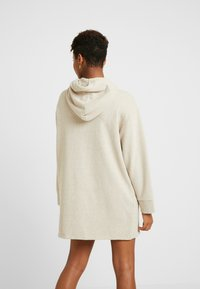 Superdry - ZIP FRONT DRESS - Vapaa-ajan mekko - soft camel - 3