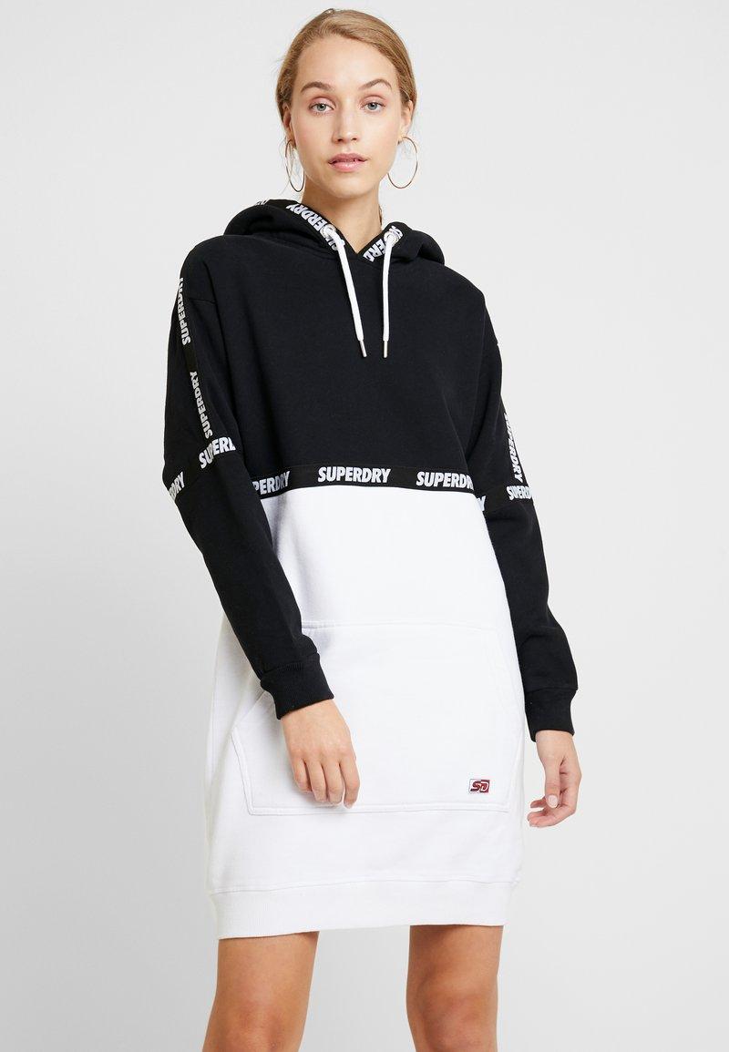 Superdry - MONO BLOCK DRESS - Freizeitkleid - black