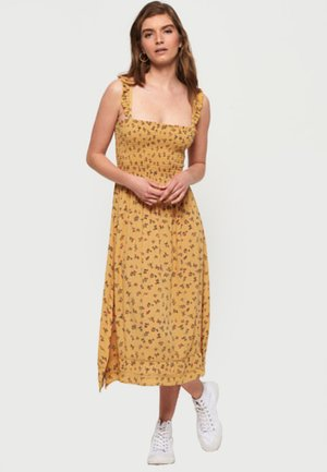 Maxi šaty - orange