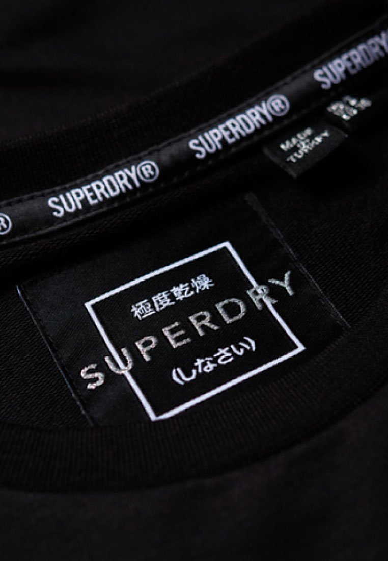 Superdry Robe en jersey - noir black