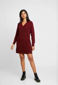 Superdry - MARISSA DRESS - Jumper dress - rust - 1