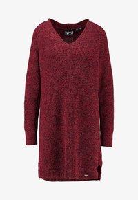 Superdry - MARISSA DRESS - Jumper dress - rust - 4