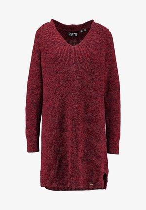 MARISSA DRESS - Robe pull - rust