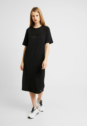 EDIT MIDI DRESS - Žerzejové šaty - black