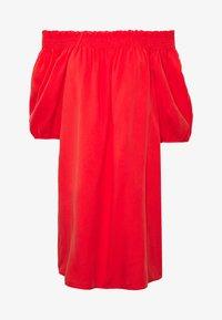 Superdry - DESERT OFF SHOULDER DRESS - Korte jurk - apple red - 4